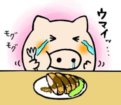 吃章魚肉餅
