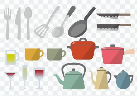 Kitchen tool material 01