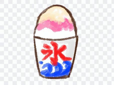 Crayon Series [Condensed Milk Strawberry Cup]