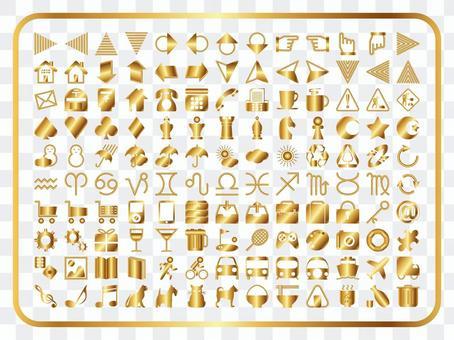 图标各种套(金)