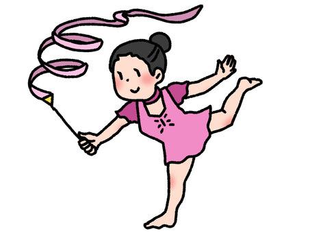 藝術體操運動員