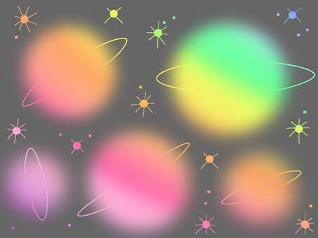 彩虹【星球】宇宙