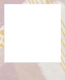 現代寶麗來相框_粉紅色