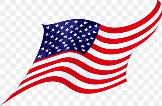 旗美國星條旗