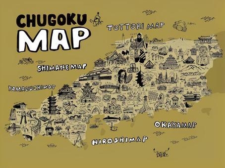 中國地圖圖