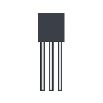 3端子電子元件