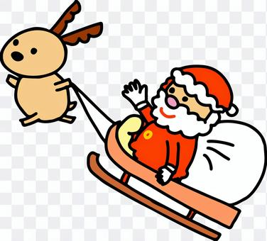 和聖誕老人一起