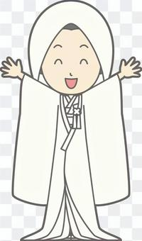 白色便士 -  Banzai  - 全身