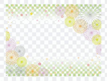 Japanese paper _ flower pattern 5
