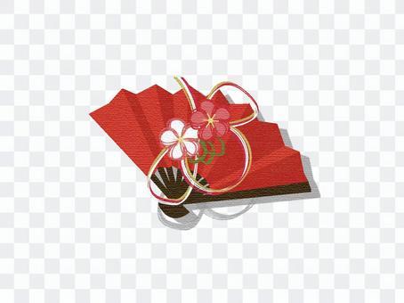 New year's card _ fan