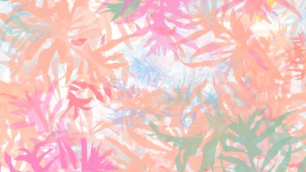 Background botanical warm pink plants