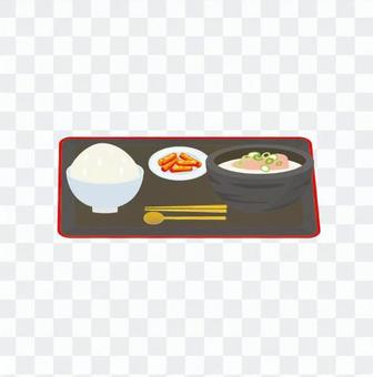 Korean cuisine set meal 2