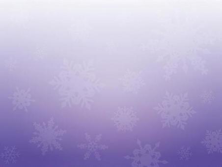 背景(冬季,大雪花,紫色)