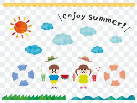 有趣的暑假插圖集