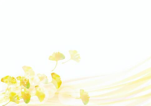 秋天的圖案銀杏18