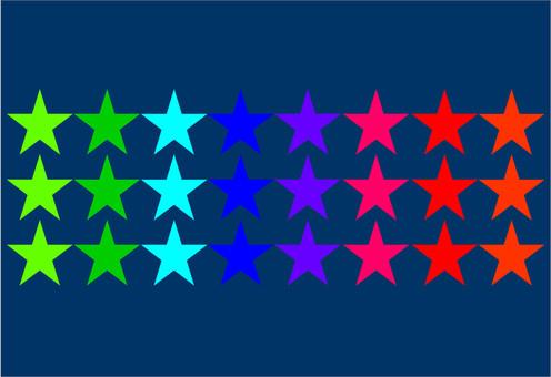 壁紙明星多彩三行