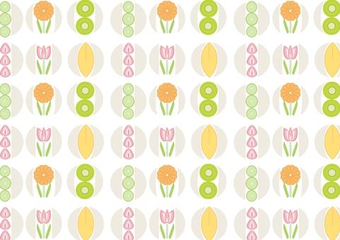 壁紙水果三明治圖案