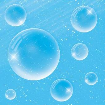透明的泡沫