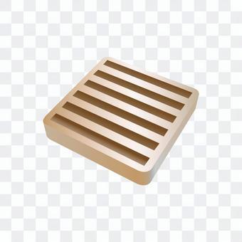 橡膠板(米色)