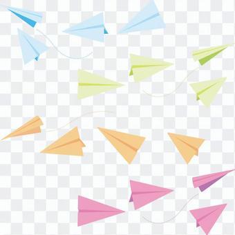 紙飛機集合