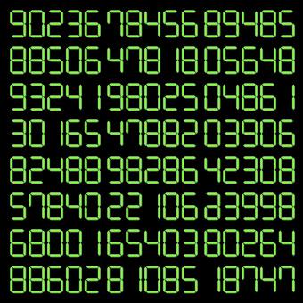 數字隨機時鐘時間