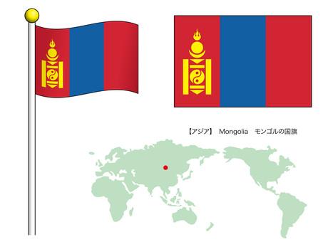 National flag vector 21_Mongolia_CS3