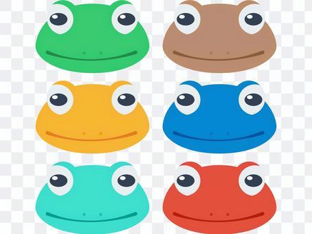 青蛙臉套裝