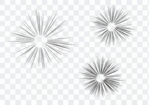 豐橋公園集中線效果線