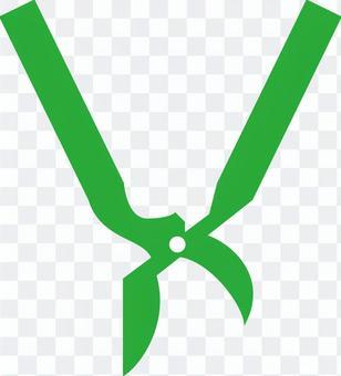 Scissors (green)