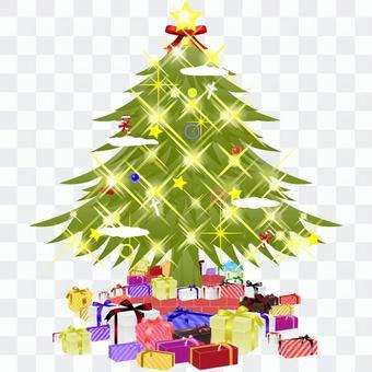 閃爍聖誕樹&禮物