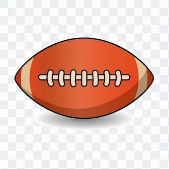 美式足球球