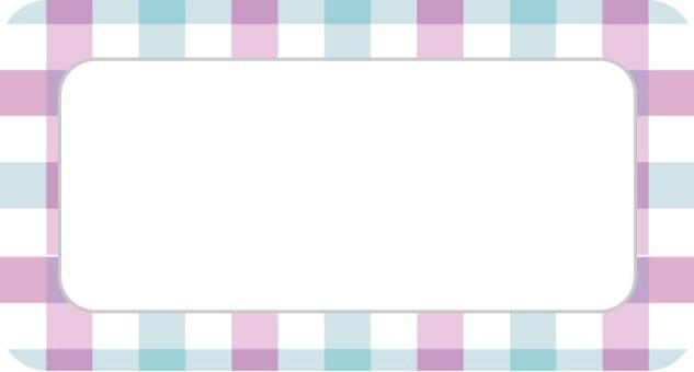 檢查銘牌框架紫色