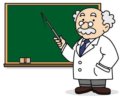 醫生和黑板