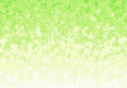 黃綠色明亮的水晶背景