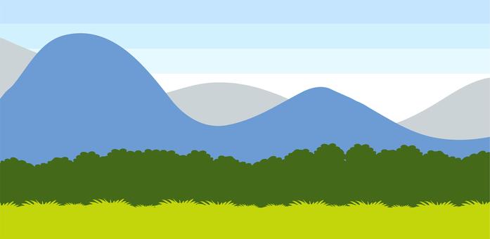 Mountain landscape material part 2