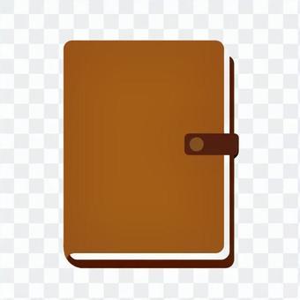 Notebook (brown)