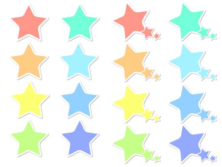 Speech bubble set_star