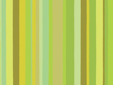 手寫的不同寬度的綠色條紋