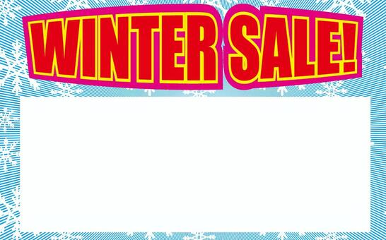 Price tag winter sale