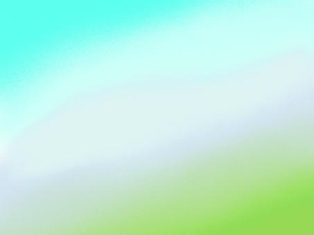 배경 연두색 하늘색 배선 프레임