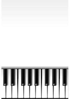 White piano (vertical)