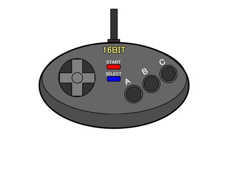 16位機器遊戲控制器