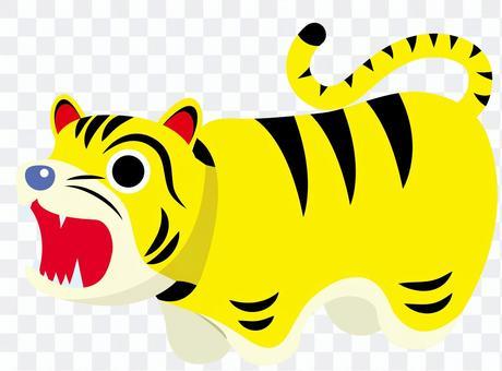 老虎紙型圖2