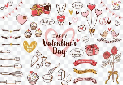 Valentine's Day illustration 01