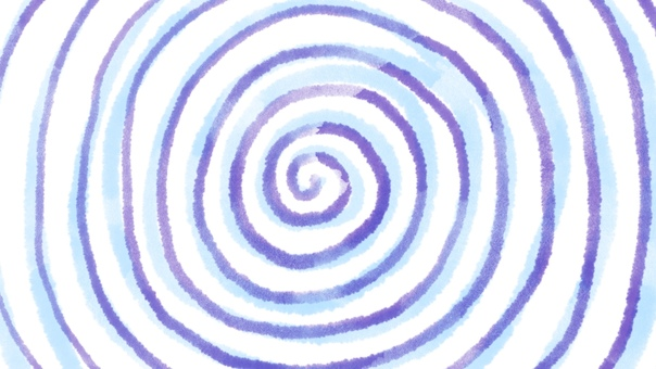 背景圓圓的藍紫色