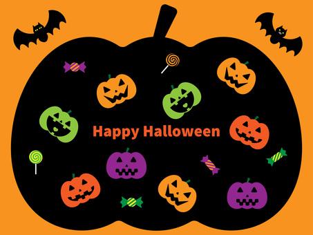 Halloween wallpaper 02 pumpkins
