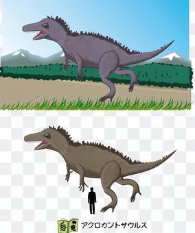 棘龍白堊紀食肉恐龍
