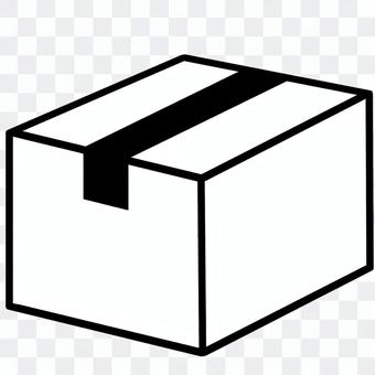 紙箱(剪影)