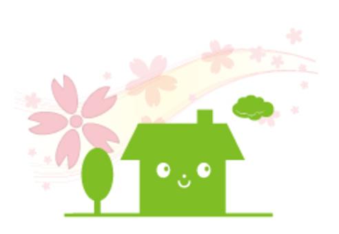 櫻花住宅(前)_綠色