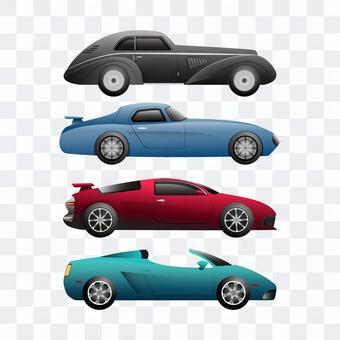 車イラストセット